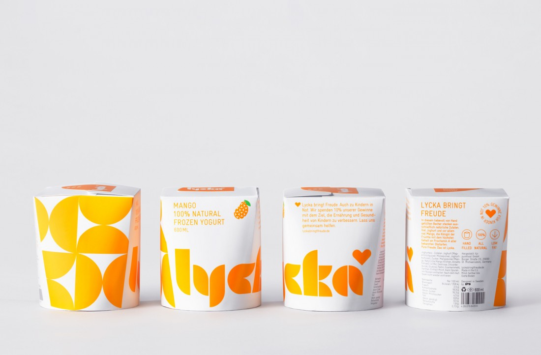 Packaging Design for Lycka Frozen Yogurts 4