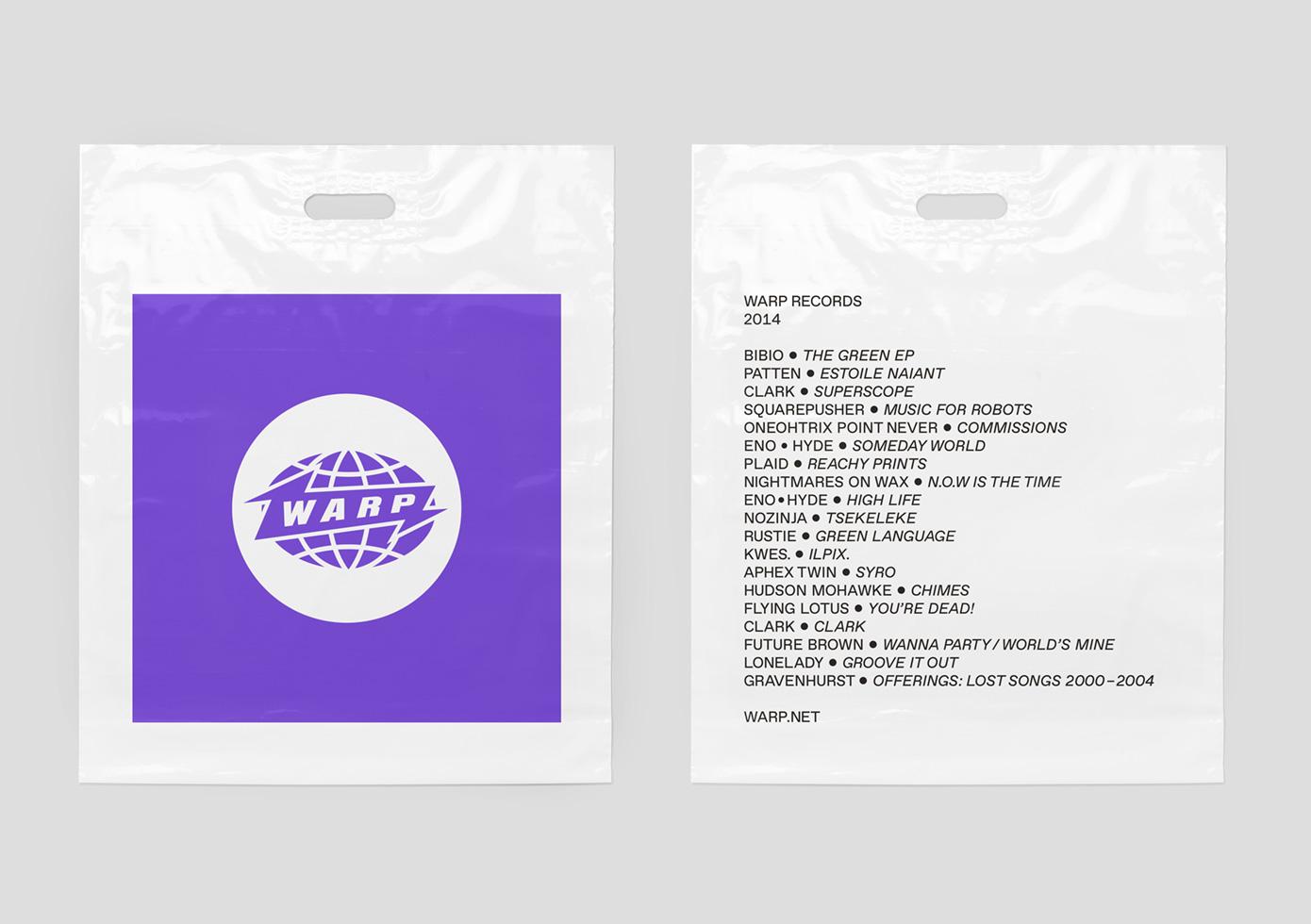 Rebranding of Warp Records