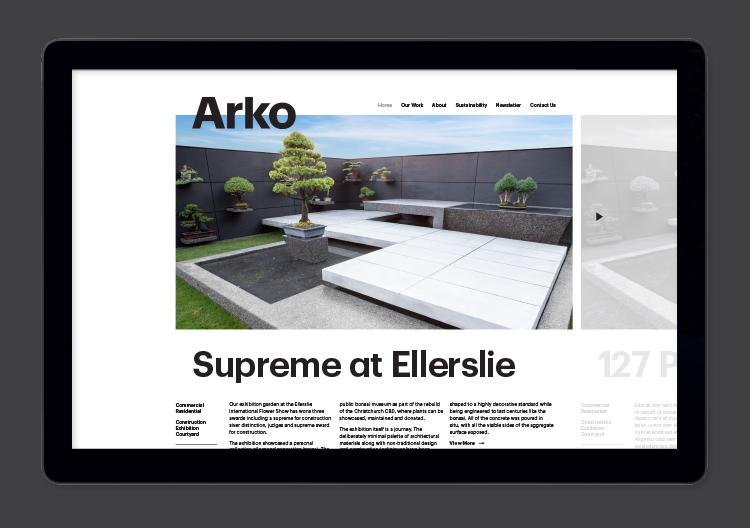 Arko Corporate Branding  2