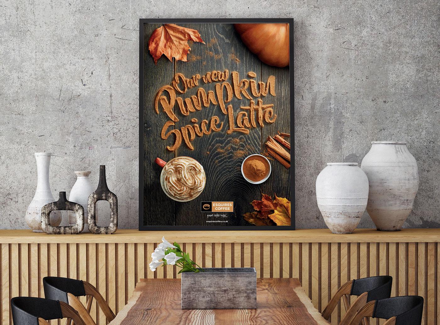 Pumpkin Spice Latte promotion