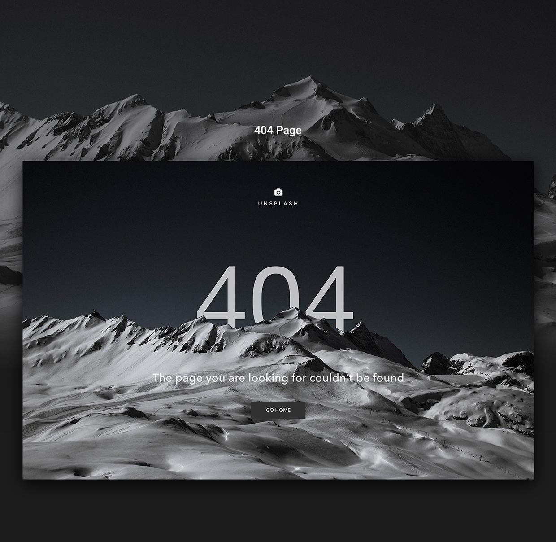 unsplash website design4