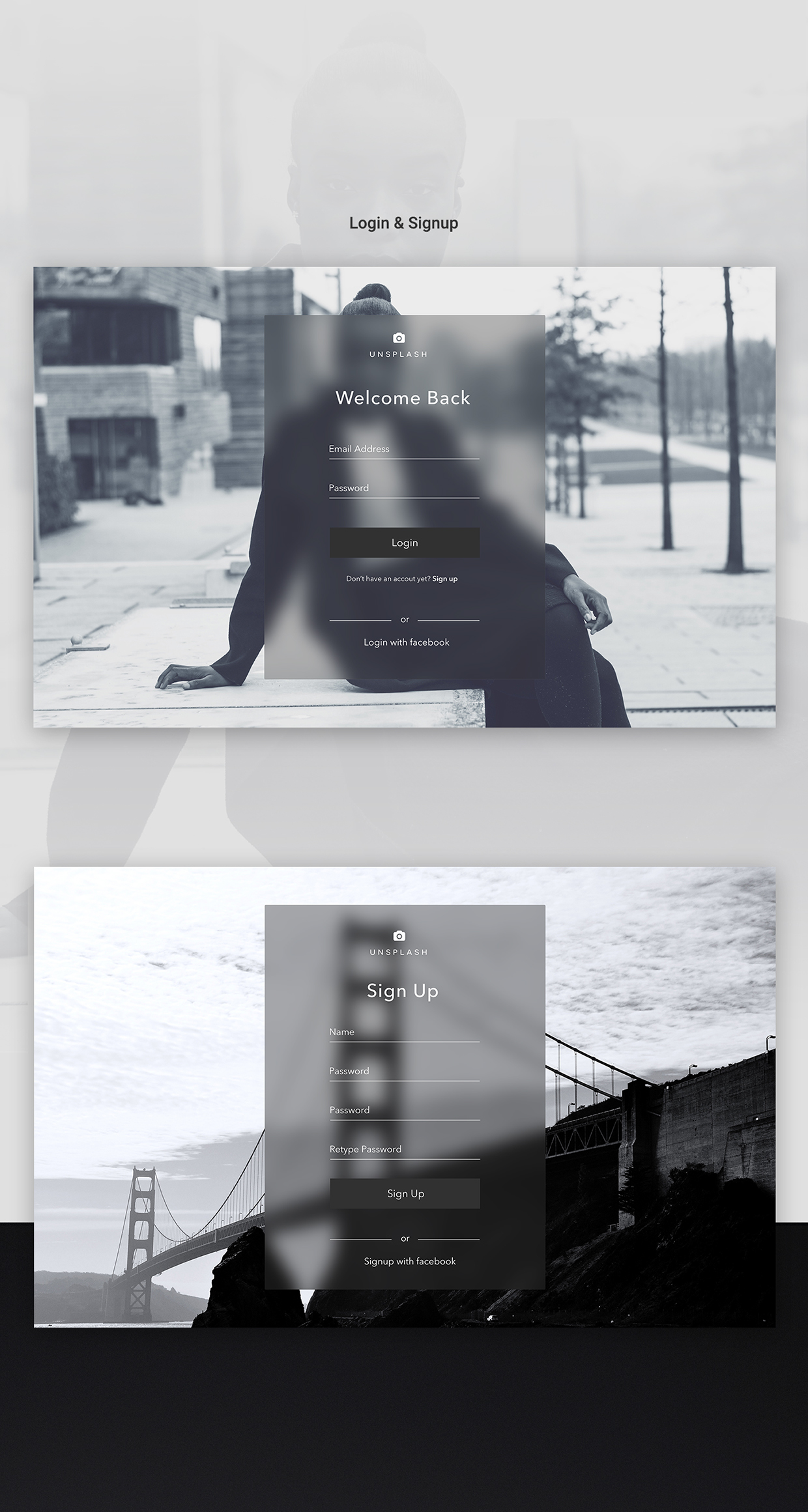 unsplash website design5